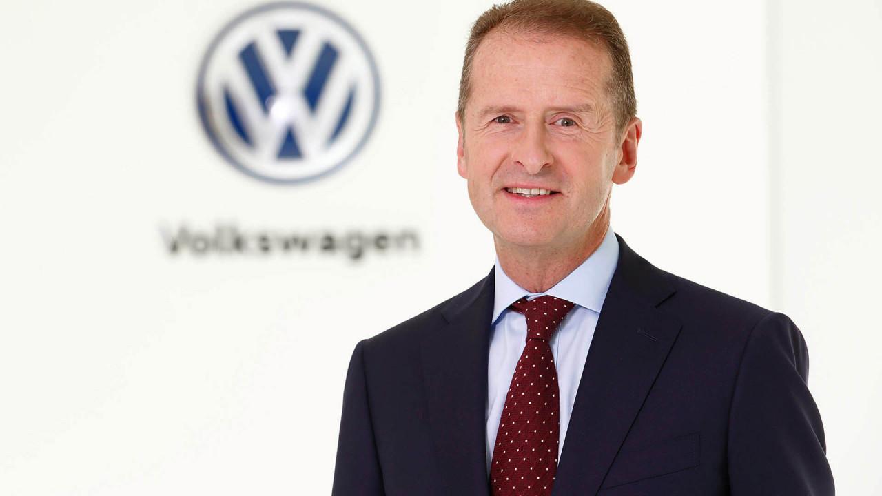 Diess leitet VW-Konzern und Marke