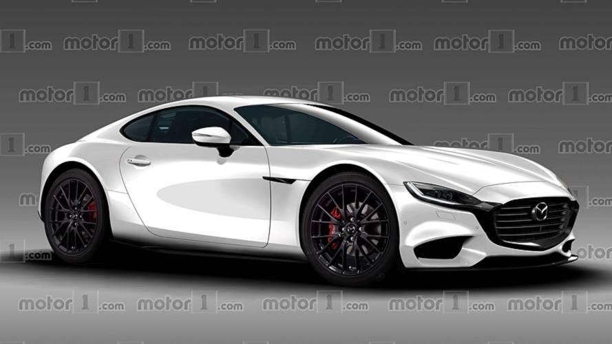 Notre illustration de la future Mazda RX-9 !