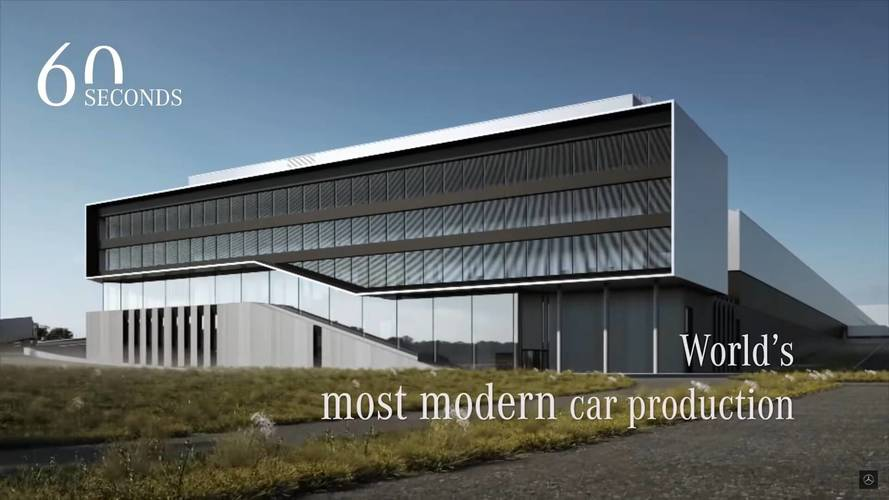 Mercedes-Benz nos enseña virtualmente la fábrica más moderna del mundo