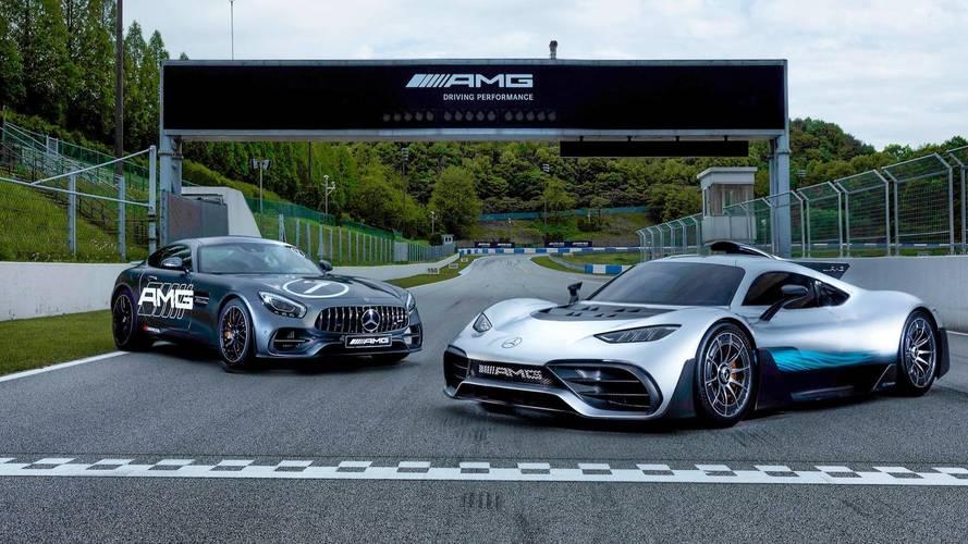 Mercedes, Kore'deki AMG pistinin açılışını Project One ile yaptı