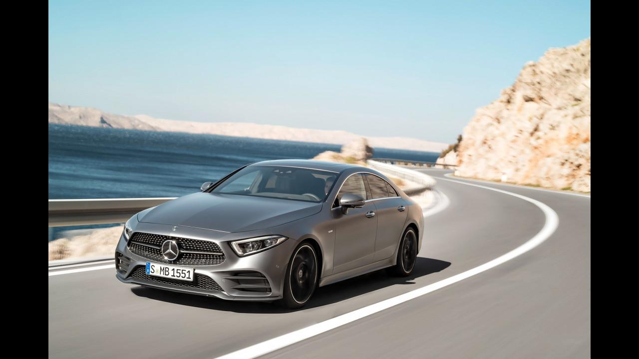 Nuova Mercedes CLS