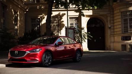 2018 Mazda6 turbo motor ve yeni iç mekânla Los Angeles'ta