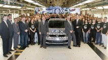 Volkswagen comemora marco histórico de um milhão de Fox produzidos