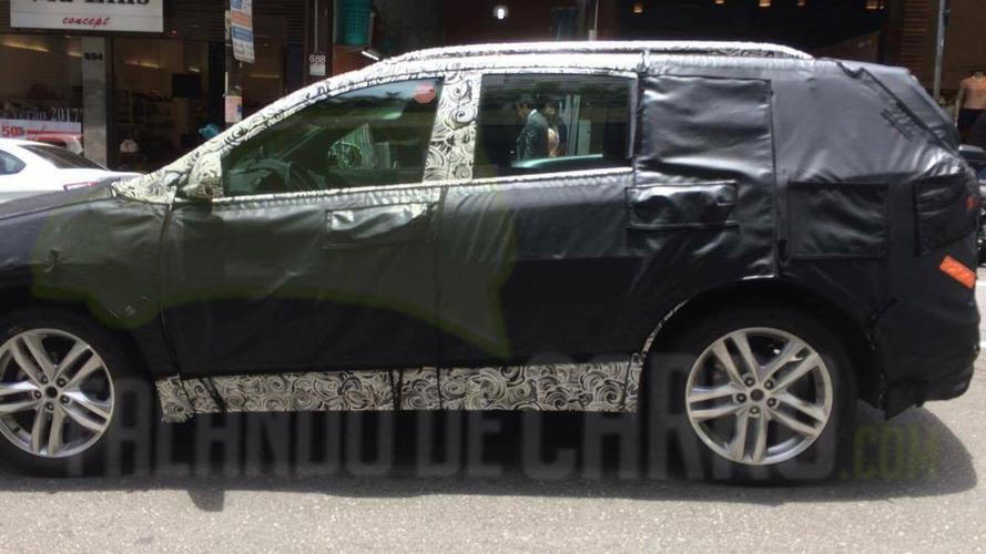 Flagra do Chevrolet Equinox encerra qualquer dúvida sobre vinda ao Brasil