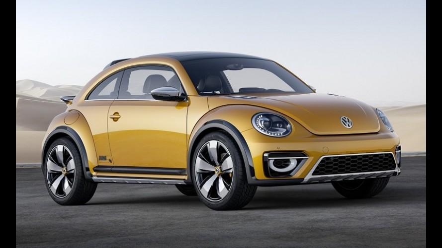 VW Fusca terá versão aventureira em 2016 baseada no conceito Dune
