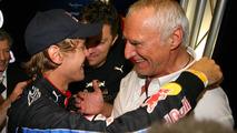 Sebastian Vettel (GER), Red Bull Racing and Dietrich Mateschitz (AUT), Owner of Red Bull (Red Bull Racing, Scuderia Toro Rosso) - Formula 1 World Championship, Rd 19, Abu Dhabi Grand Prix, 14.11.2010