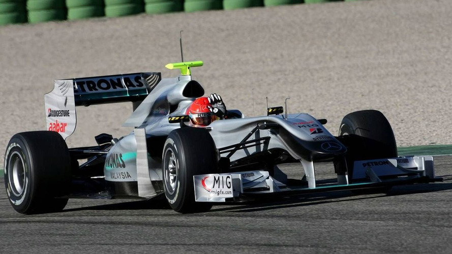 Mercedes figures admit W01 down on pace
