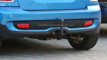 MINI Cooper S Spied with a Tow Hitch and Modified Central Exhaust
