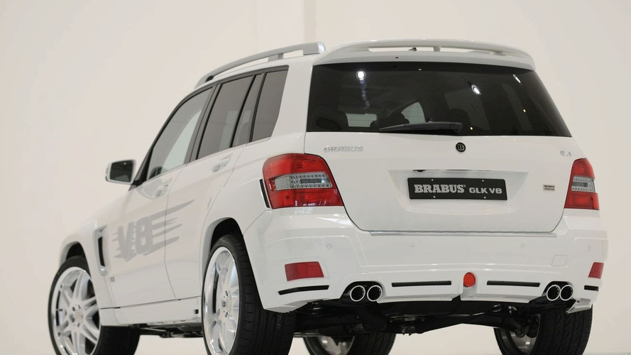 BRABUS GLK V8 with 462 hp Revealed in Geneva