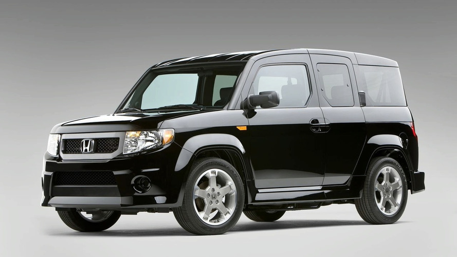 Honda Element Facelifted for 2009