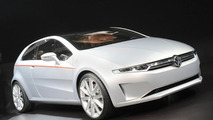 Volkswagen Tex Coupe Concept by Italdesign Giugiaro live in Geneva - 01.03.2011