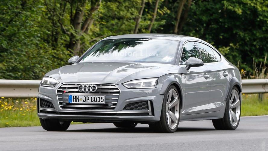 Audi RS5 Sportback Photos espion