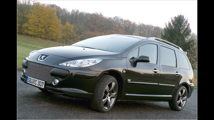 Peugeot 307 SW RC Line: Limitierte Sport-Edition kommt