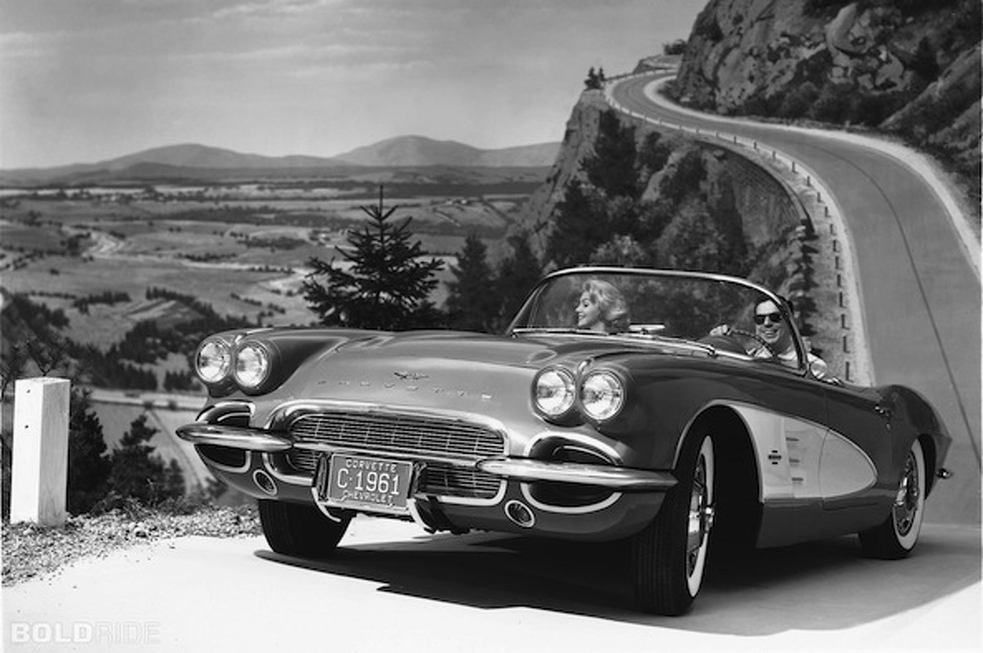 Wheels Wallpaper: 1961 Chevrolet Corvette
