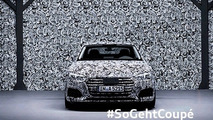 2017 Audi A5 Coupe teaser