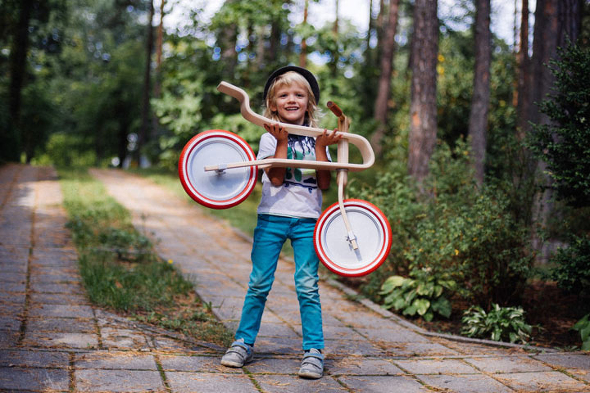 The Brum Brum Bike is the Cool Two-Wheeler for Little Adventurers