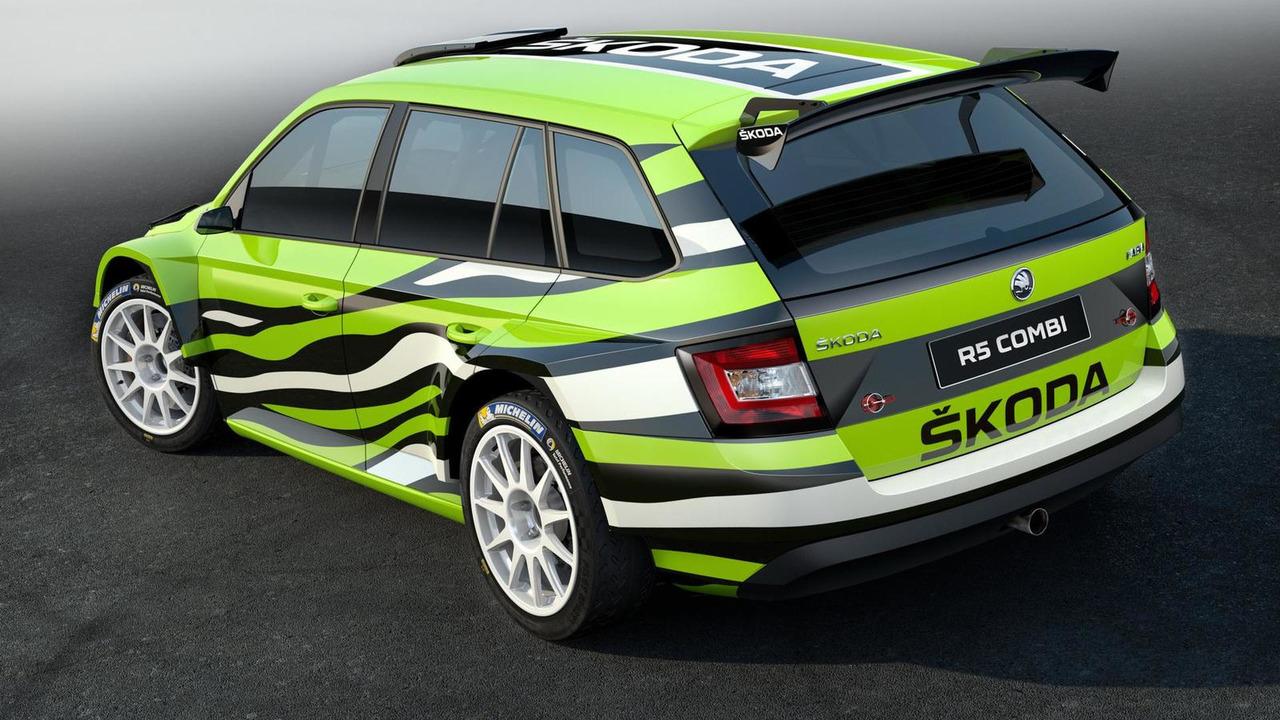 Skoda Fabia Combi R5