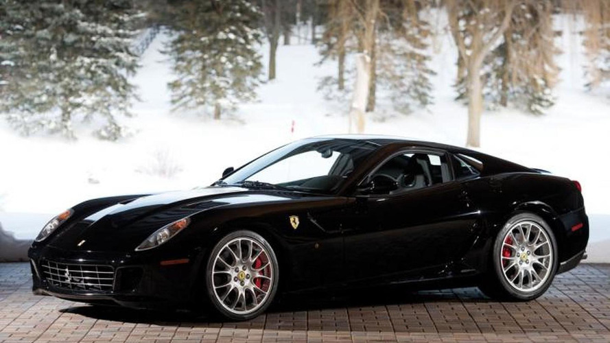 2007 Ferrari 599 GTB with manual gearbox auctioned for $682,000