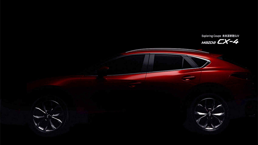 Mazda CX-4 more revealing teasers published