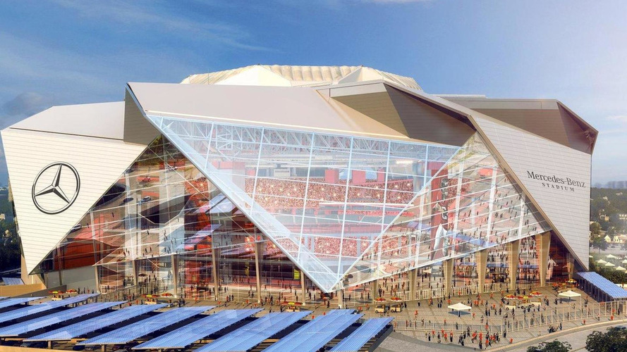 Mercedes-Benz Stadium announced, will be home to the Atlanta Falcons [video]