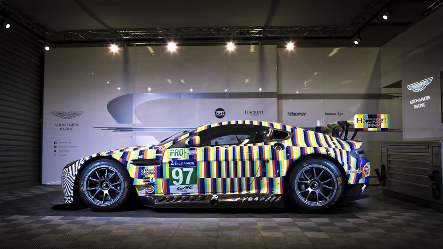Aston Martin introduces Rehberger Vantage GTE Le Mans art car