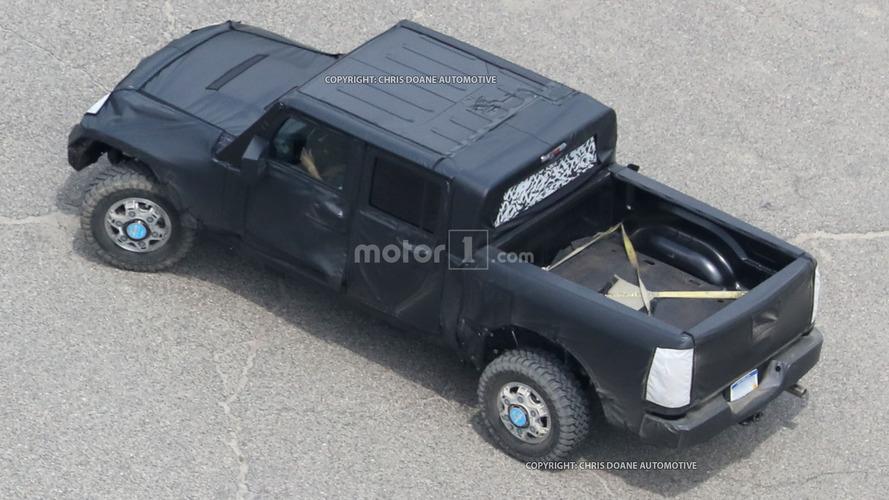 Jeep Wrangler Pickup coming 2019, may use Ram chassis
