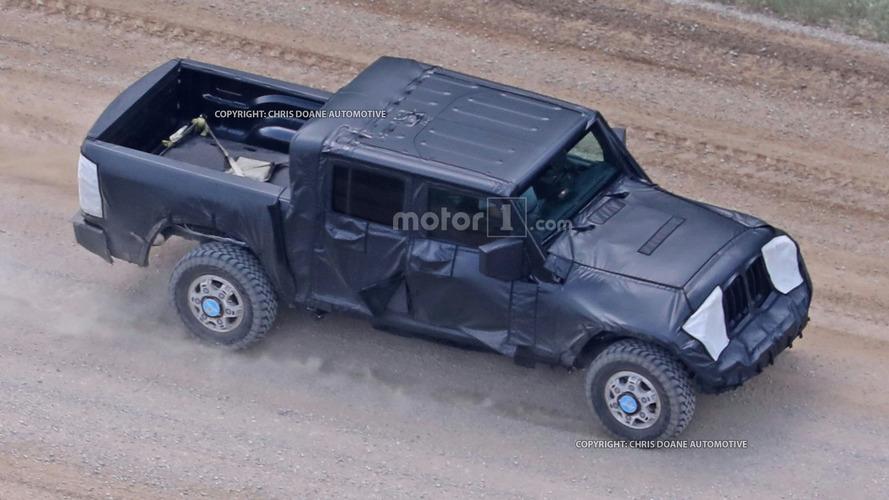 2019'da gelecek Jeep Wrangler Pickup, Ram altyapısı kullanabilir