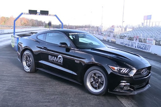 Watch the World's Fastest 2015 Mustang GT Hit a 9.9 Quarter Mile