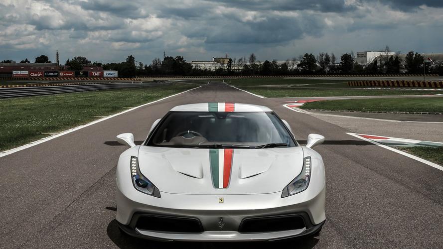Ferrari 458 MM : une commande très spéciale