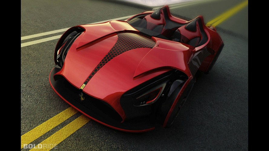 Ferrari Millenio Concept by Marko Petrovic