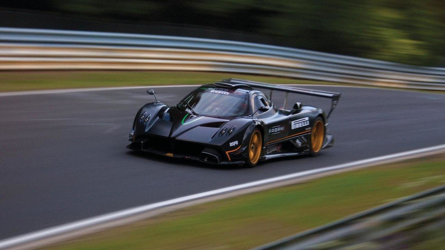 Pagani Zonda R sets new circuit record at Nurburgring Nordschleife, Germany, 28.07.2010