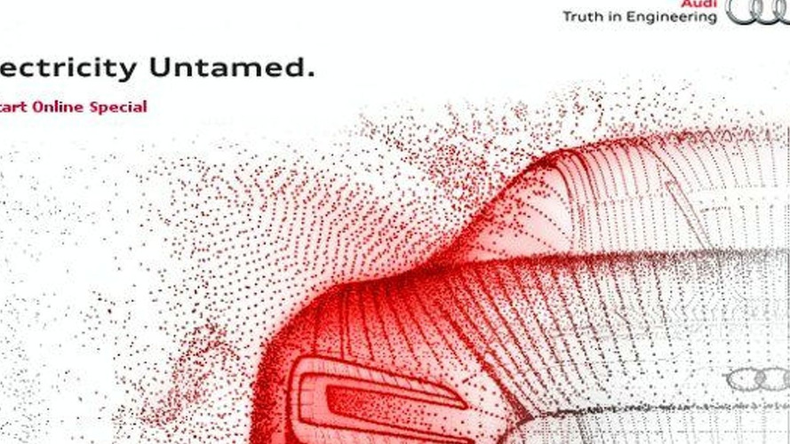 Audi Launches 'Electricity Untamed' Microsite - Possible R8 ePerformance Concept? [Video]