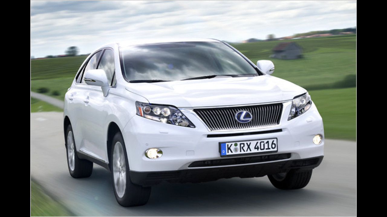 Hybridmodell: Lexus RX 450h