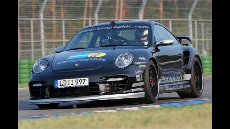 Airlift Suspension von Cargraphic hebt Porsche 911 an