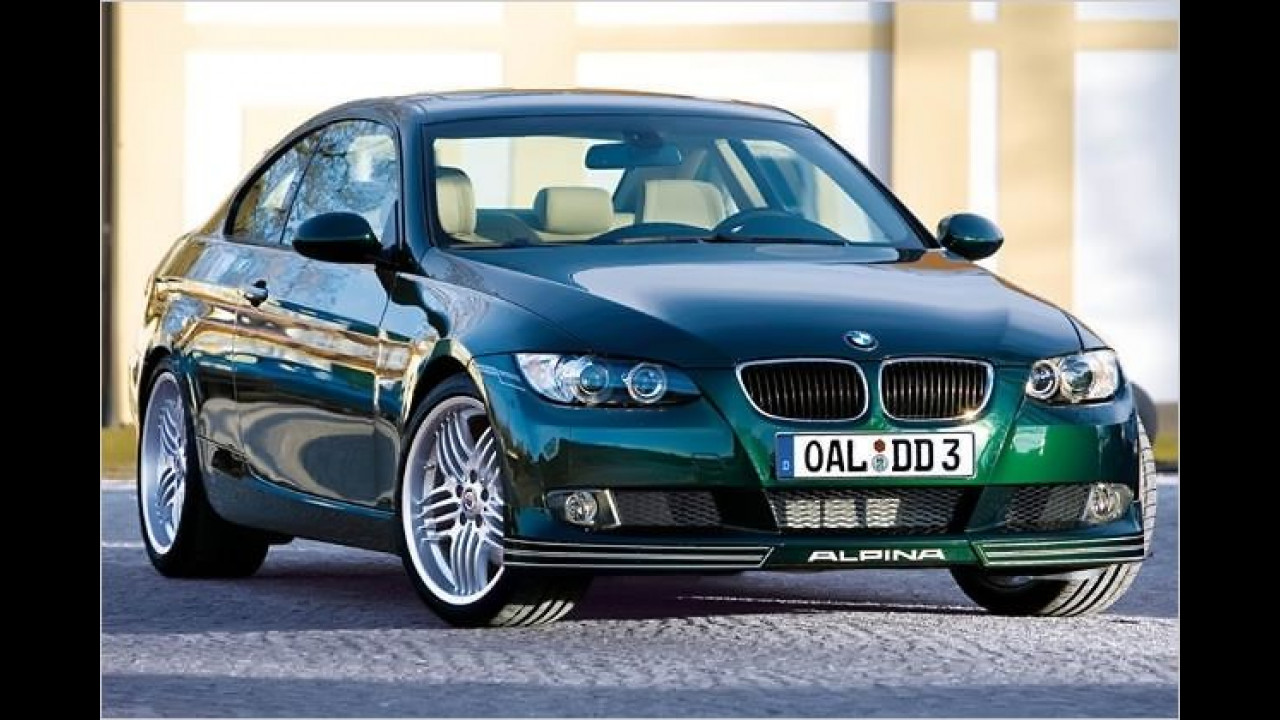 BMW Alpina D3 Bi-Turbo Coupé