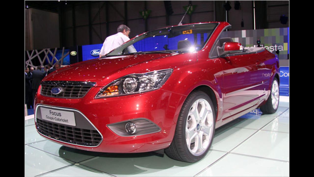 Ford Focus CC: Die facegeliftete Version des Klappdach-Cabrios steht in Genf