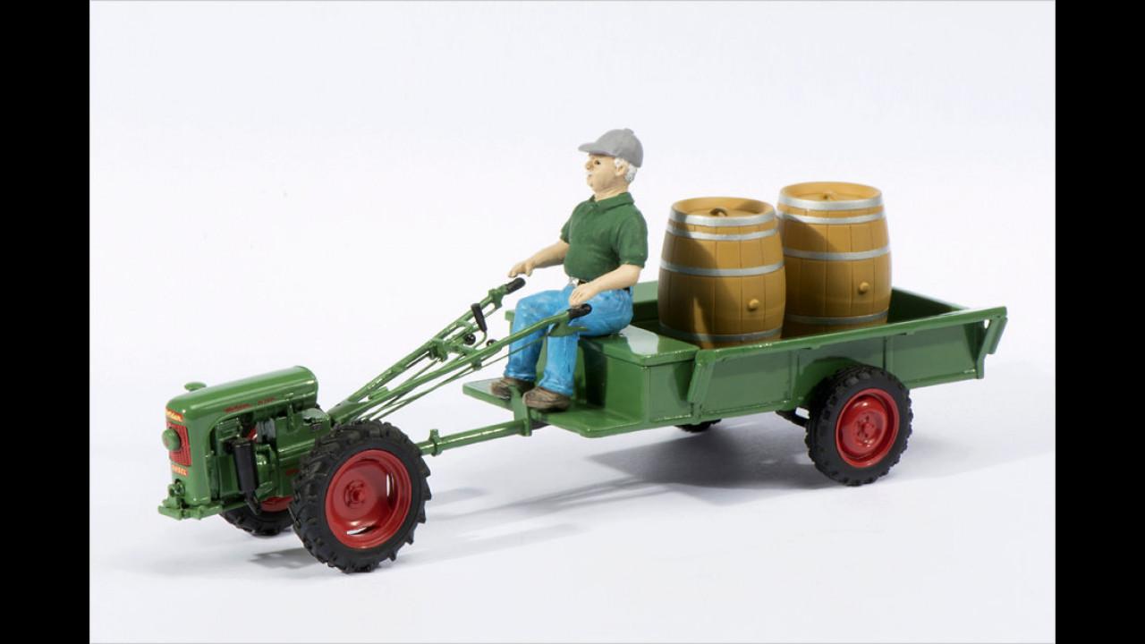 Sieger Landwirtschaft 1:32/1:43: Holder ED II mit Figur in 1:32