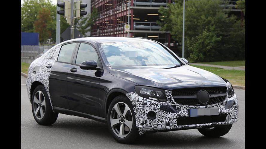 Erwischt: Mercedes GLC Coupé