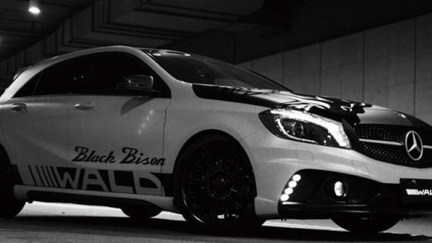 Wald shows off their Black Bison package for the Mercedes A-Class