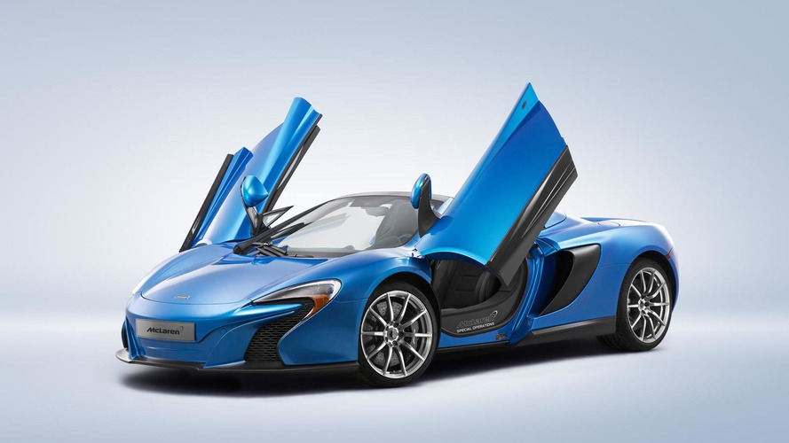 McLaren Special Operations bringing customized P1 and 650S Spider to Pebble Beach