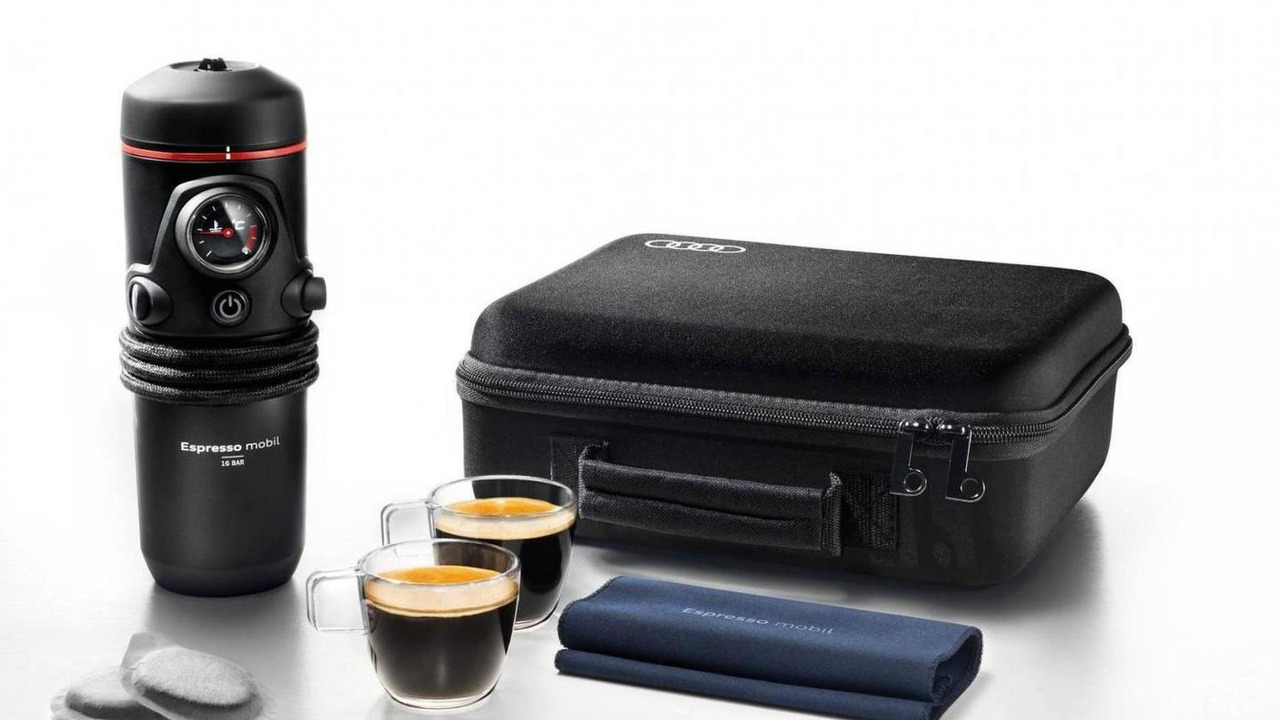 Audi portable espresso machine