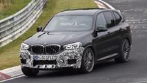 BMW X3 2018, fotos espía