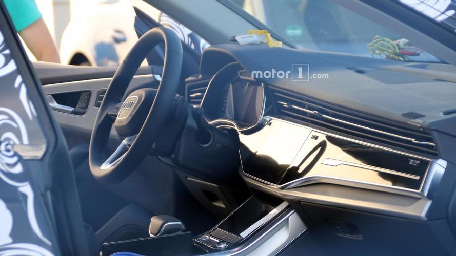 Un habitacle chic pour le futur Audi Q8