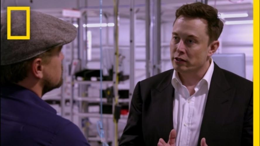 Leonardo DiCaprio intervista il CEO di Tesla Elon Musk [VIDEO]