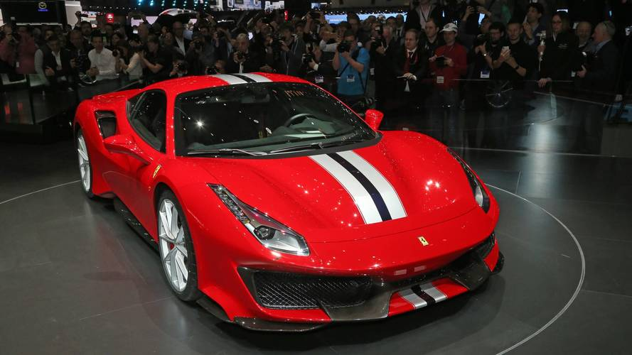 Ferrari 488 Pista at the 2018 Geneva motor show