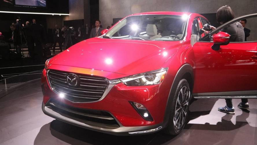 Mazda Cx 9 >> 2019 Mazda CX-3 at the 2018 New York Auto Show photo