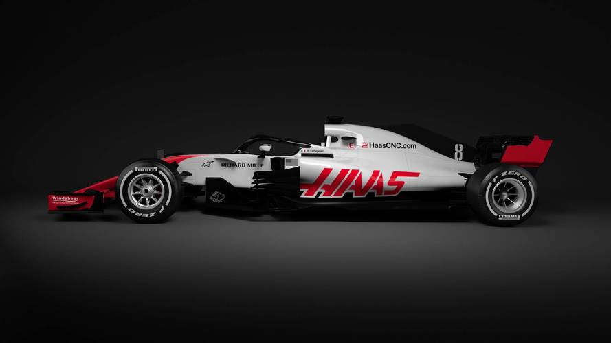 Haas gives first glimpse of F1 in 2018