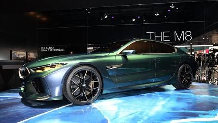 BMW, M8 Gran Coupe konseptini sergiliyor