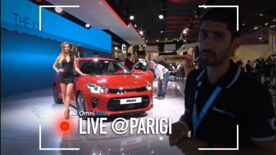 Salone di Parigi, la Kia Rio è diventata grande [VIDEO]