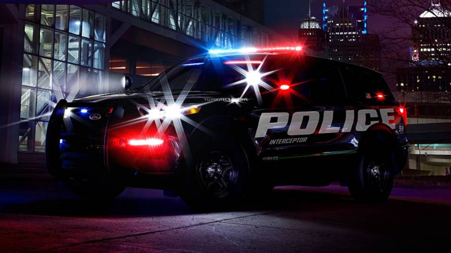 Ford yapımı Polis araçları, yeni Explorer'ı gözler önüne seriyor